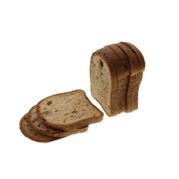 glutenvrij bruinbrood